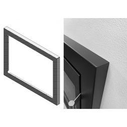 HWAM I 40/55 Rahmen der für eine Einbautiefe auf 35 cm angepasst ist