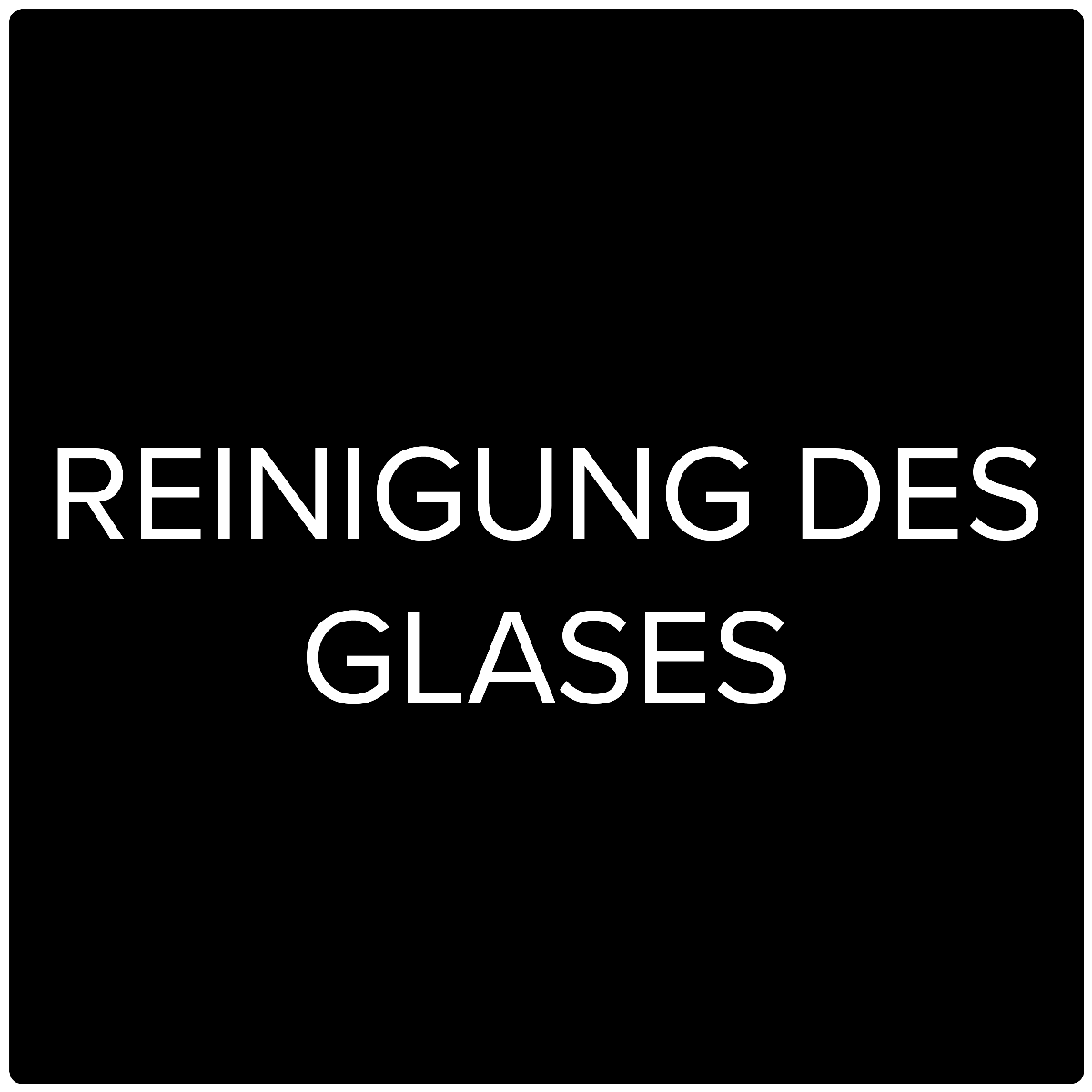 HWAM Video: Reinigung des Glases